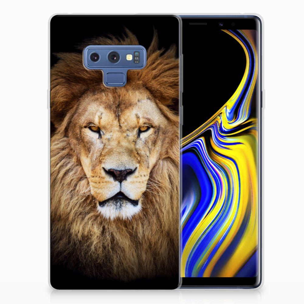 Samsung Galaxy Note 9 TPU Hoesje Design Leeuw