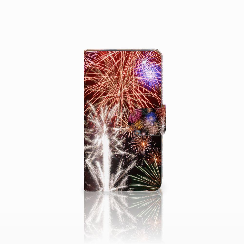 HTC Desire 310 Boekhoesje Design Vuurwerk