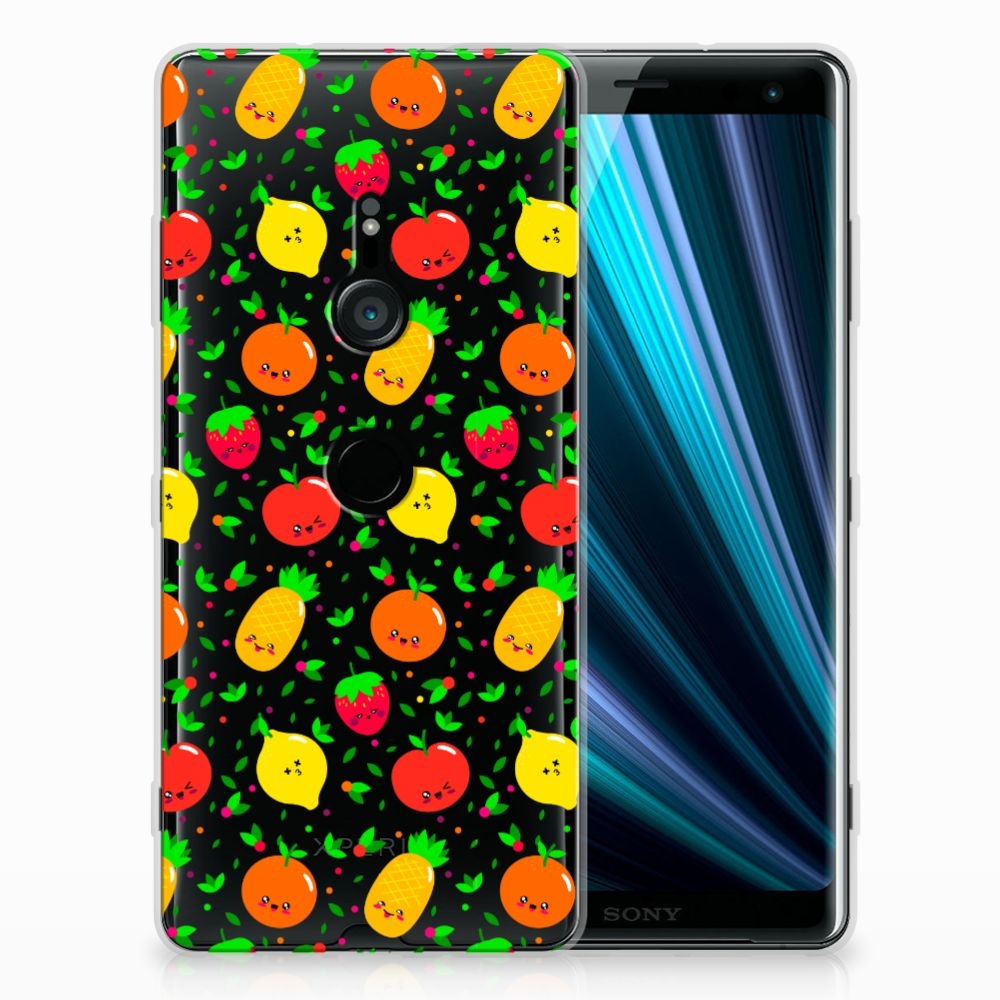 Sony Xperia XZ3 TPU Hoesje Design Fruits