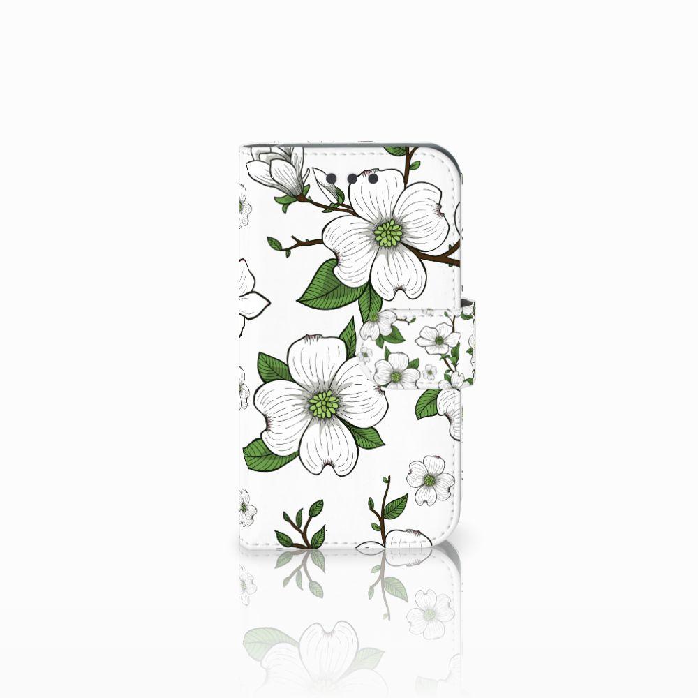 Samsung Galaxy Core 2 Boekhoesje Design Dogwood Flowers