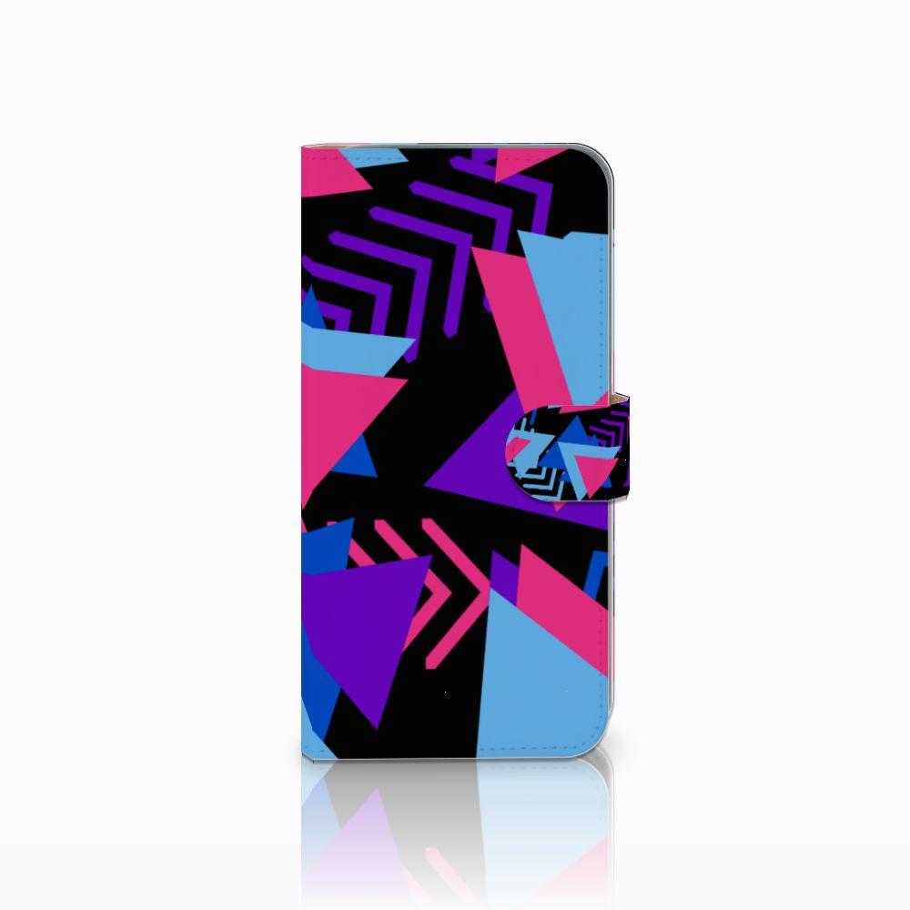 HTC Desire 10 Pro Bookcase Funky Triangle