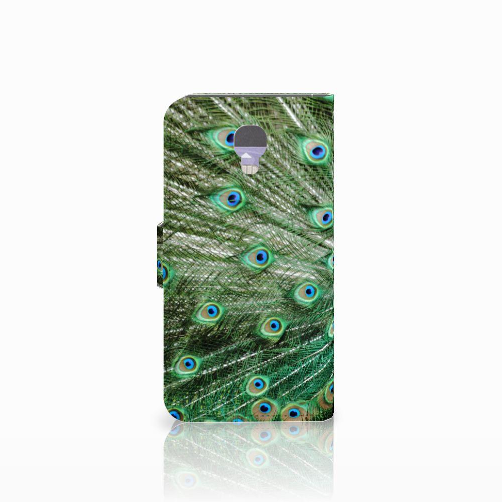 LG X Screen Telefoonhoesje met Pasjes Pauw