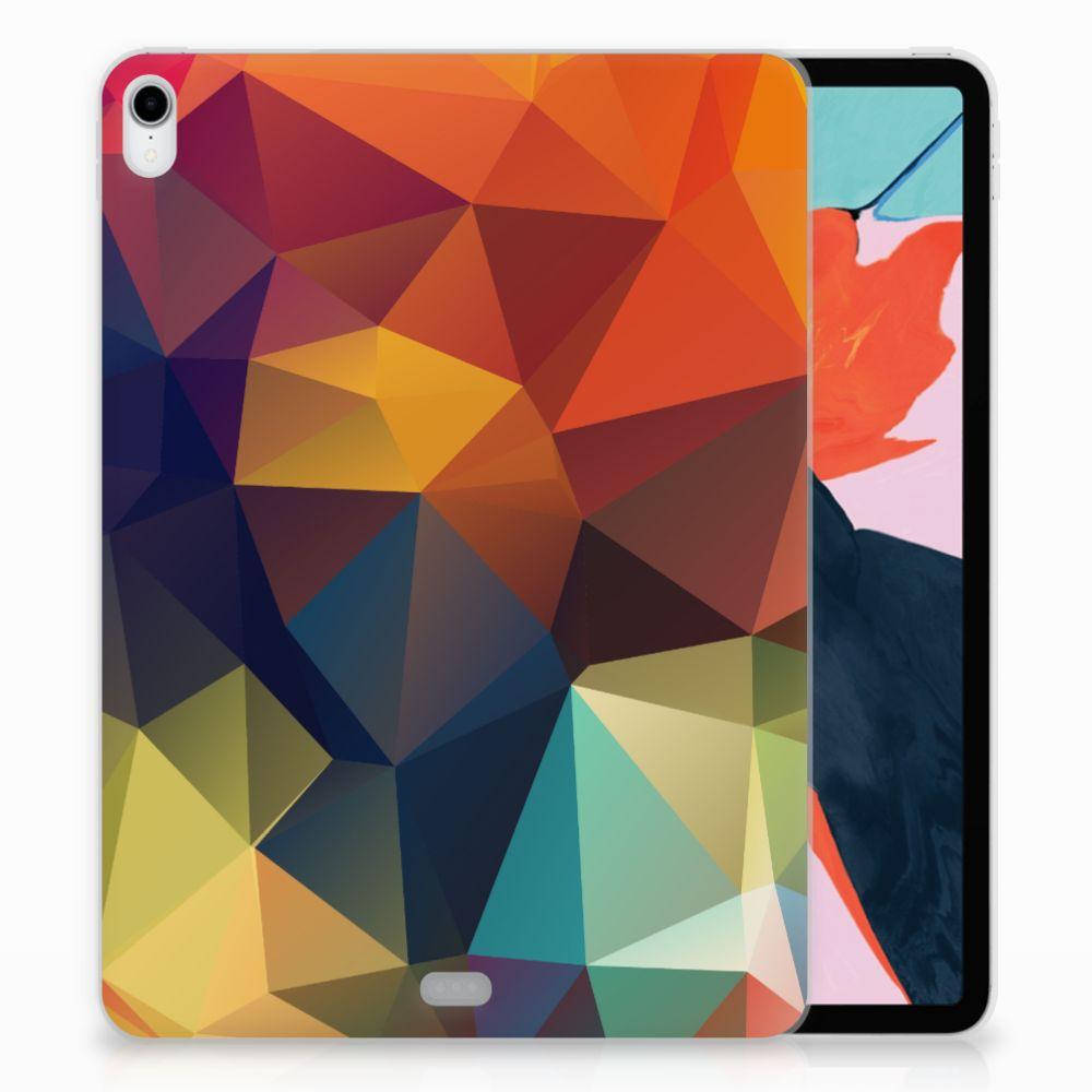 Apple iPad Pro 11 inch (2018) TPU Hoesje Polygon Color