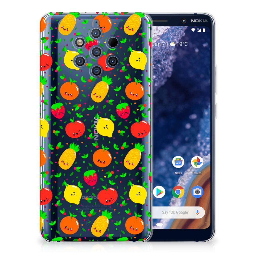 Nokia 9 PureView Siliconen Case Fruits