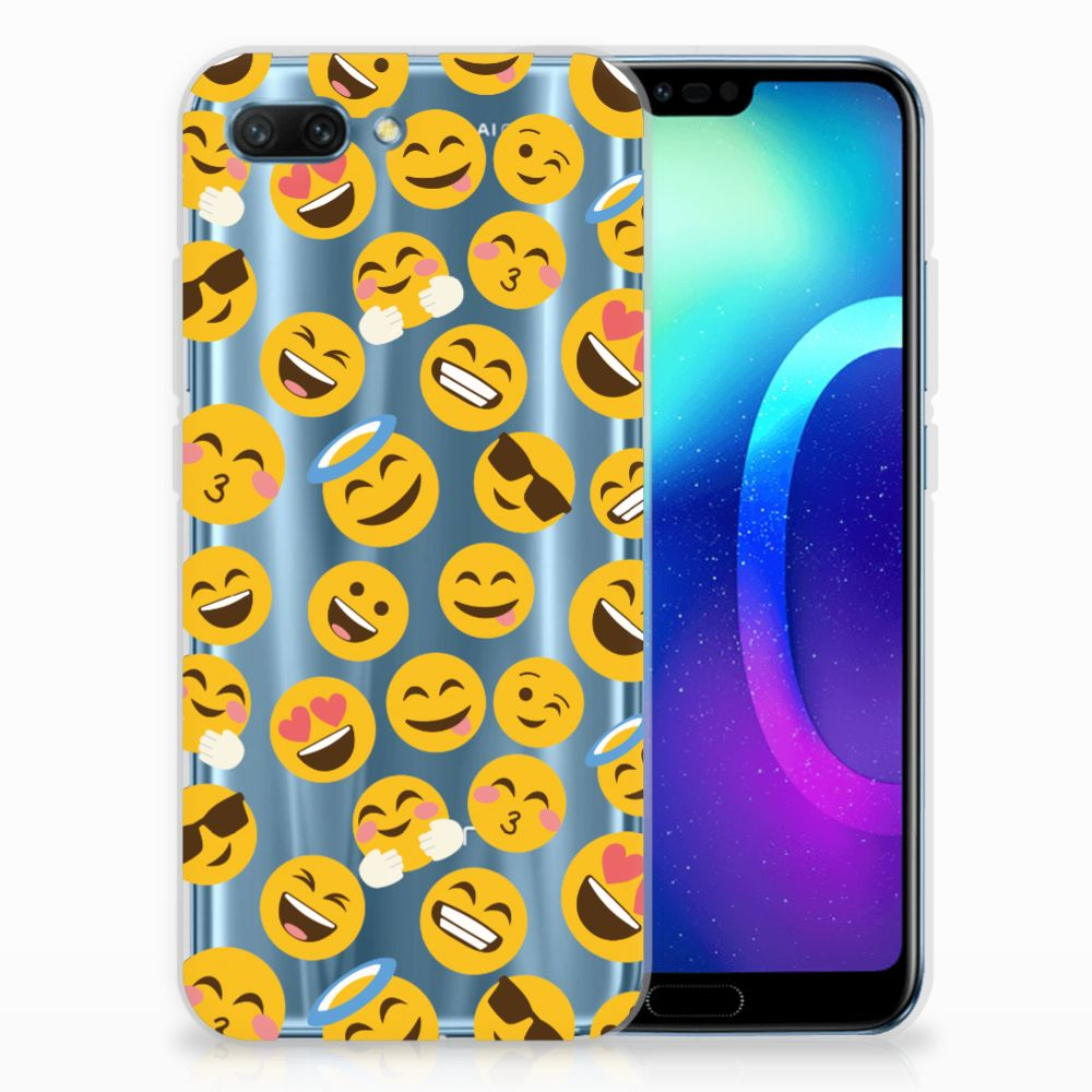 Huawei Honor 10 TPU bumper Emoji