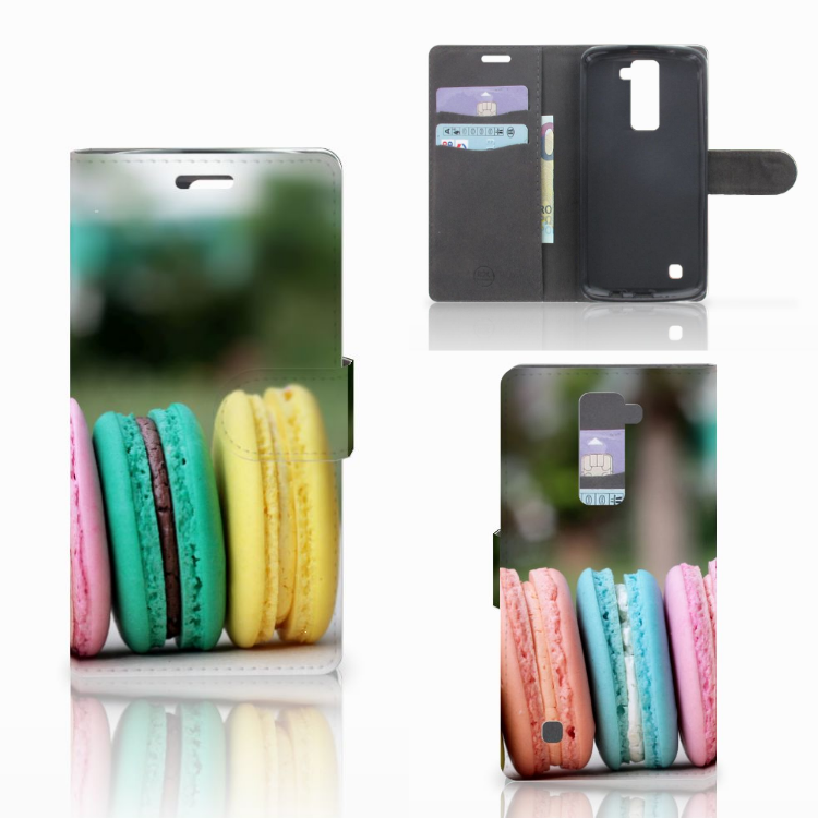 LG K10 2015 Book Cover Macarons