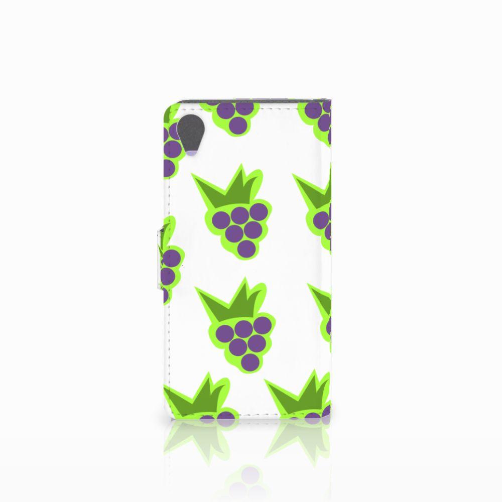 Sony Xperia X Book Cover Druiven