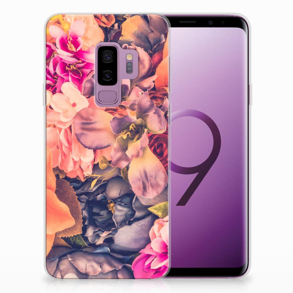 Samsung Galaxy S9 Plus TPU Hoesje Design Bosje Bloemen