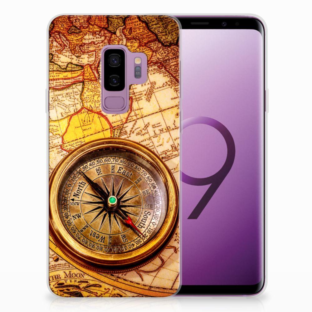 Samsung Galaxy S9 Plus TPU Hoesje Design Kompas