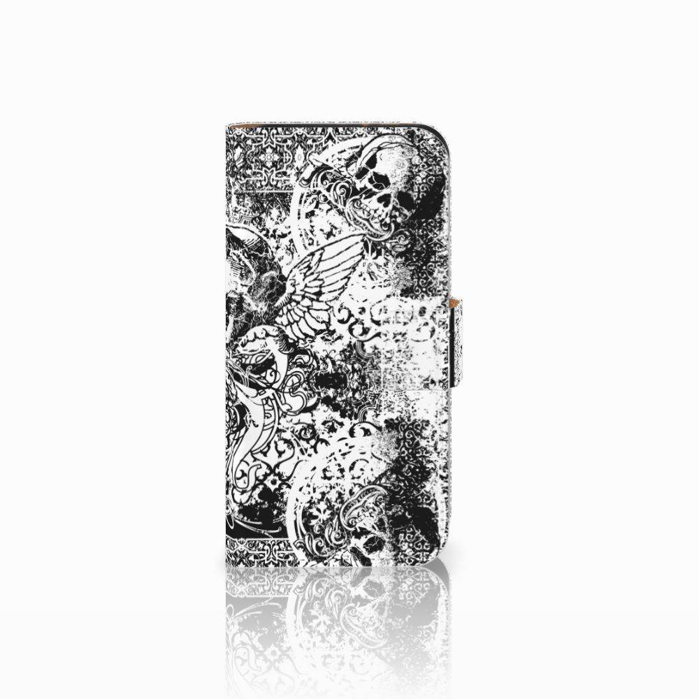 HTC One Mini 2 Boekhoesje Design Skulls Angel