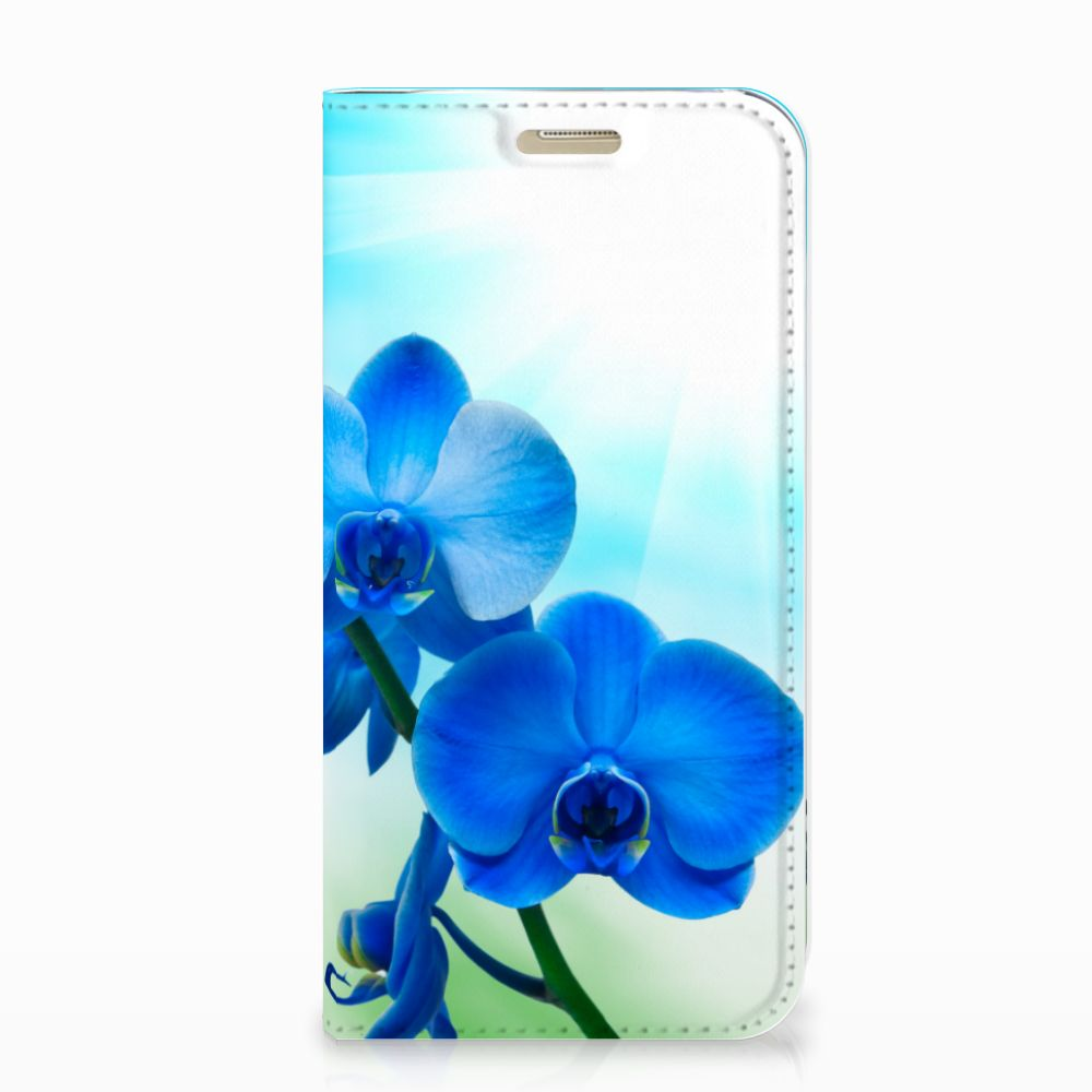 Samsung Galaxy A3 2017 Smart Cover Orchidee Blauw