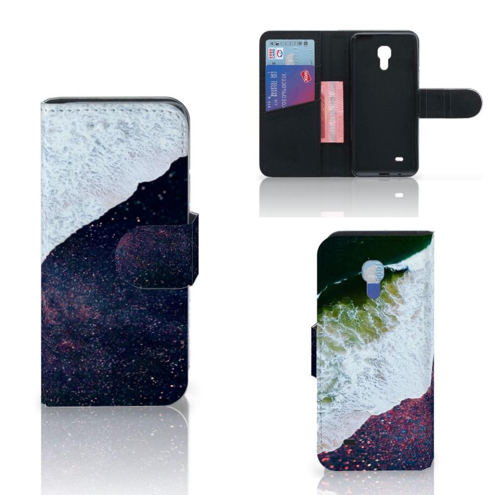 Samsung Galaxy S4 Mini i9190 Bookcase Sea in Space