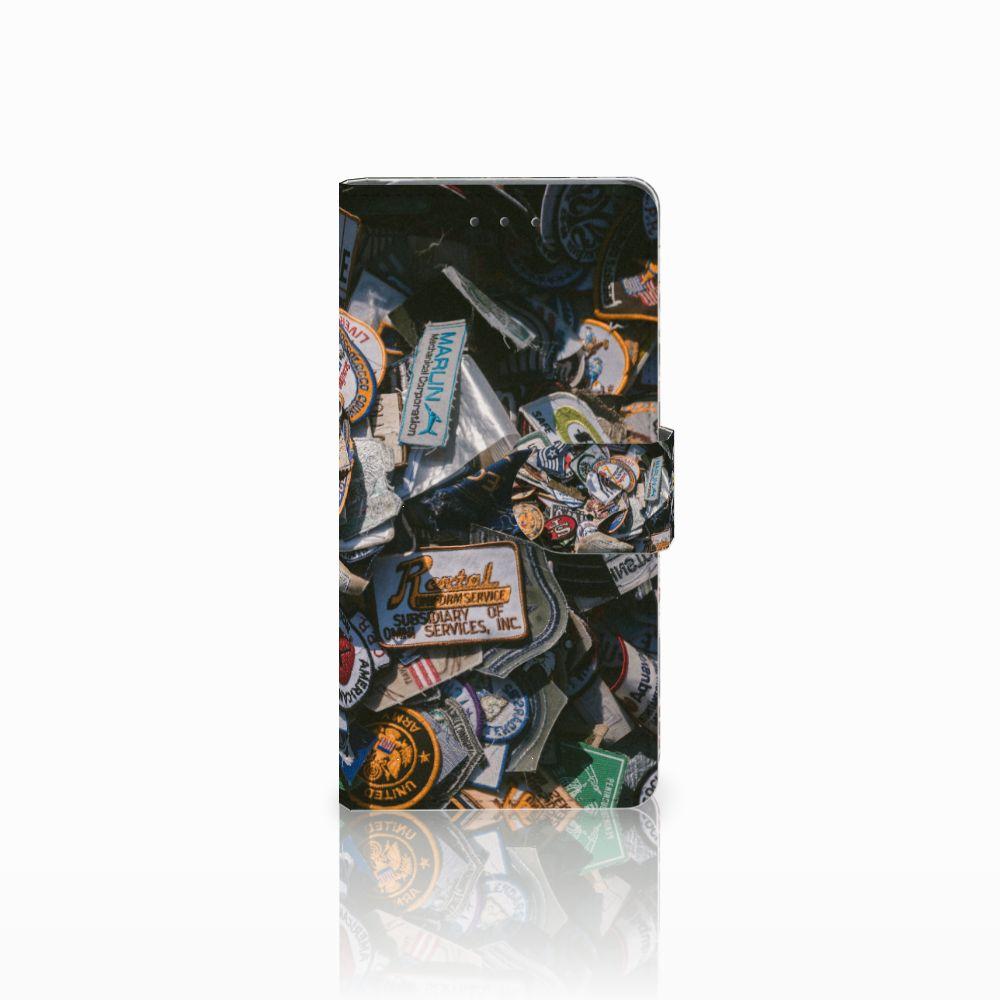 Samsung Galaxy Grand Prime | Grand Prime VE G531F Uniek Boekhoesje Badges