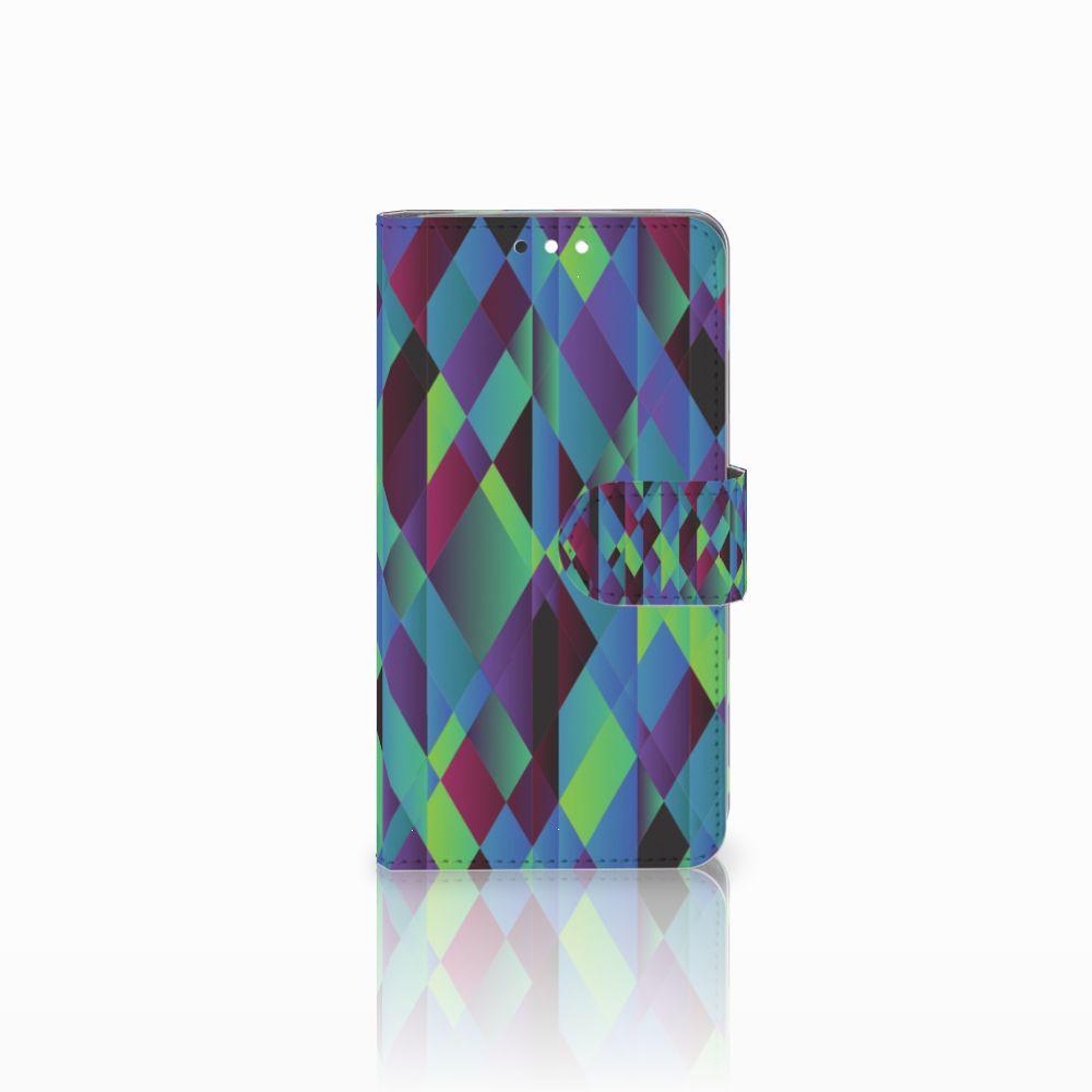 Nokia 8 Sirocco | Nokia 9 Bookcase Abstract Green Blue