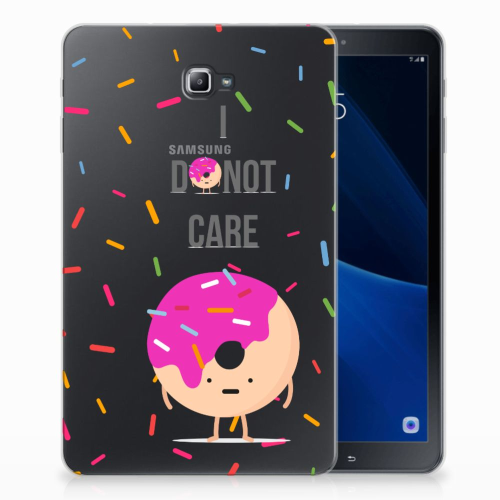 Samsung Galaxy Tab A 10.1 Tablet Cover Donut Roze