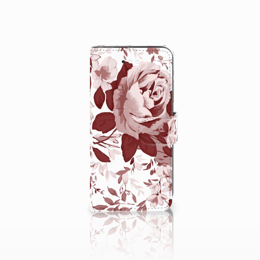 LG K11 Uniek Boekhoesje Watercolor Flowers