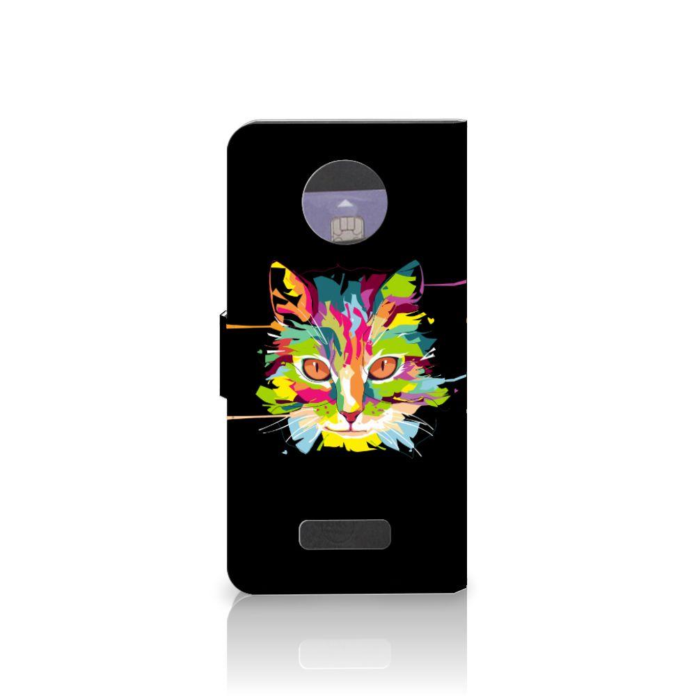 Motorola Moto Z Leuke Hoesje Cat Color