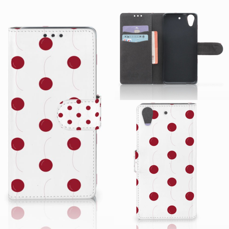 HTC Desire 626 | Desire 626s Book Cover Cherries