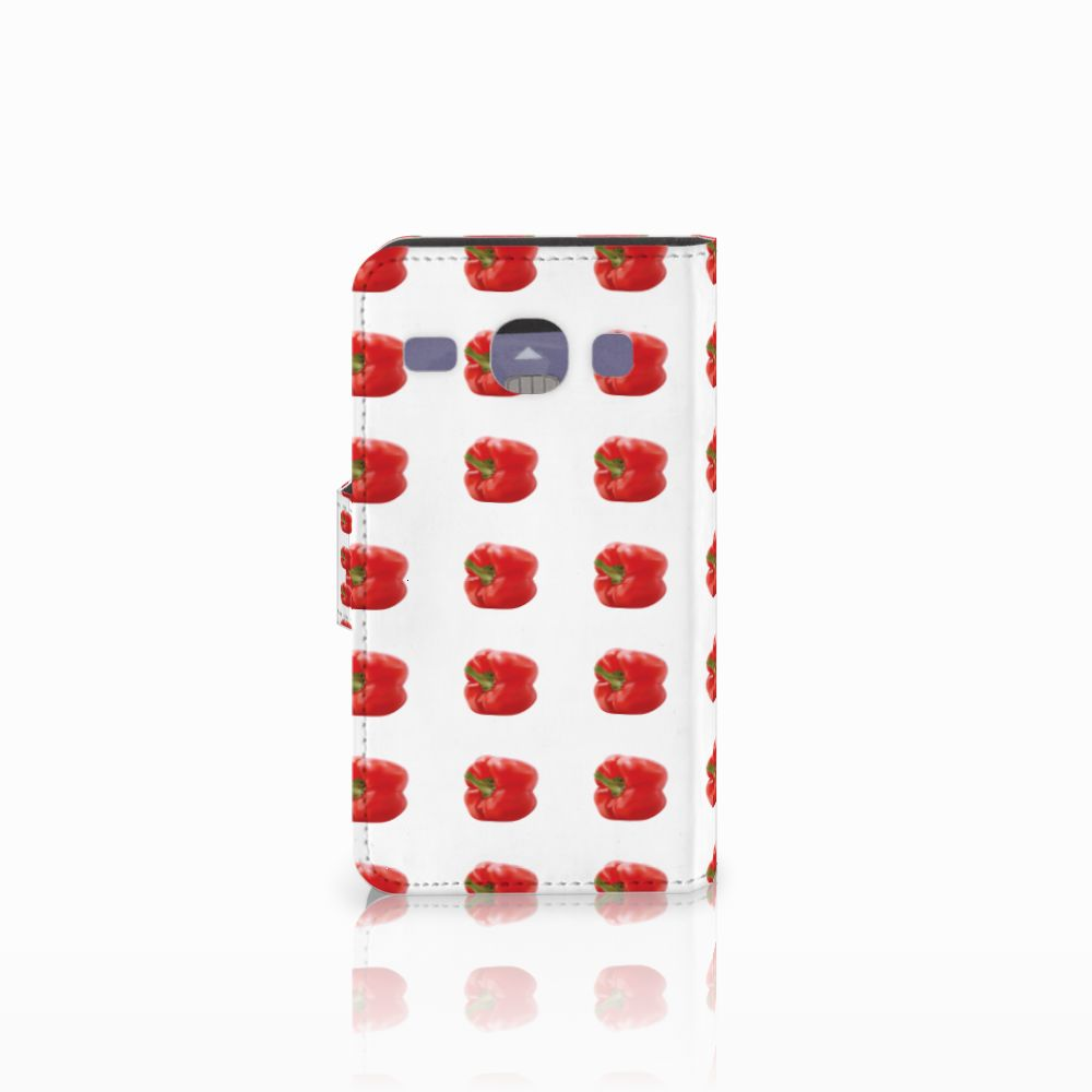 Samsung Galaxy Core i8260 Book Cover Paprika Red