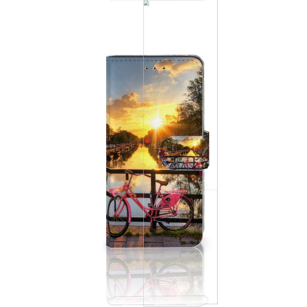 Huawei P20 Uniek Boekhoesje Amsterdamse Grachten