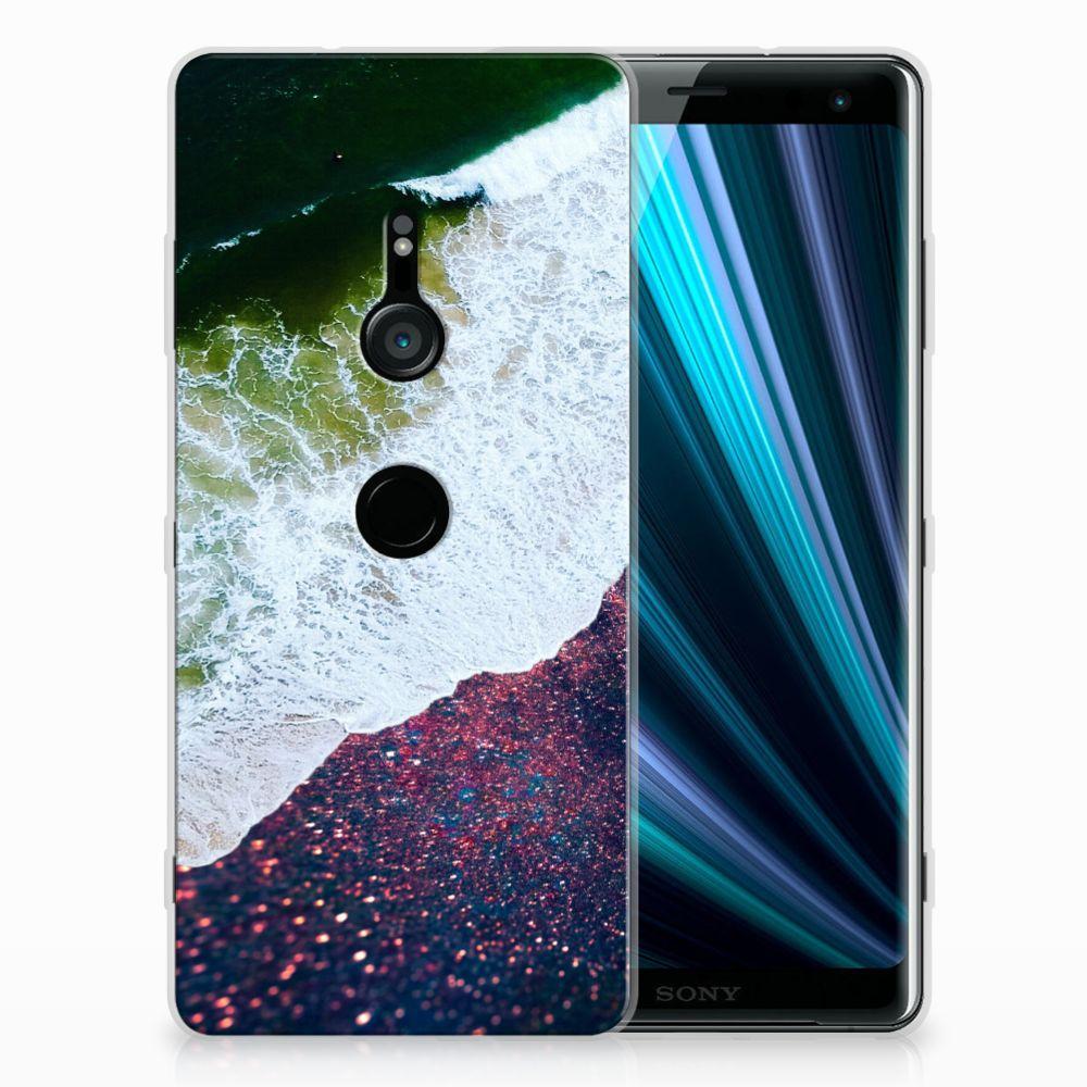 Sony Xperia XZ3 TPU Hoesje Design Sea in Space