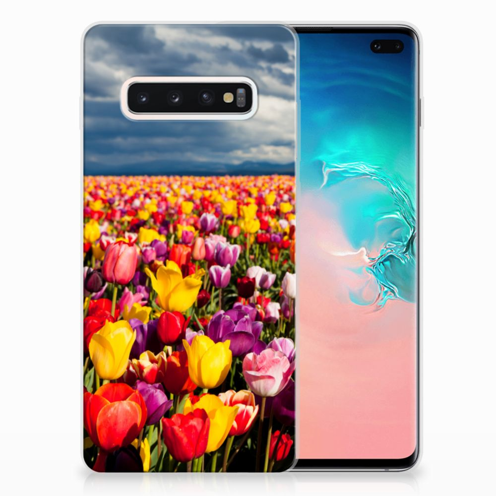 Samsung Galaxy S10 Plus TPU Case Tulpen