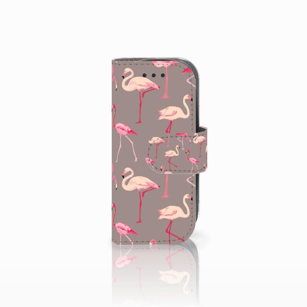 Nokia 3310 (2017) Uniek Boekhoesje Flamingo