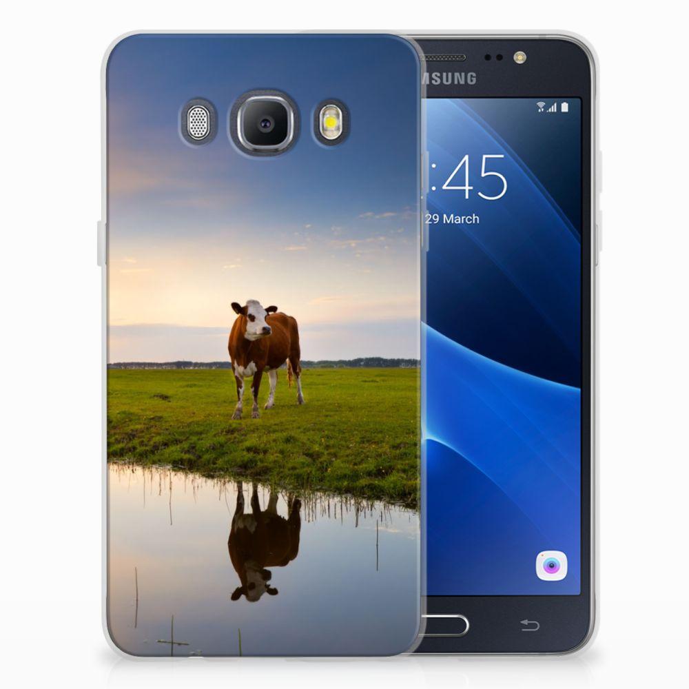 Samsung Galaxy J5 2016 TPU Hoesje Design Koe