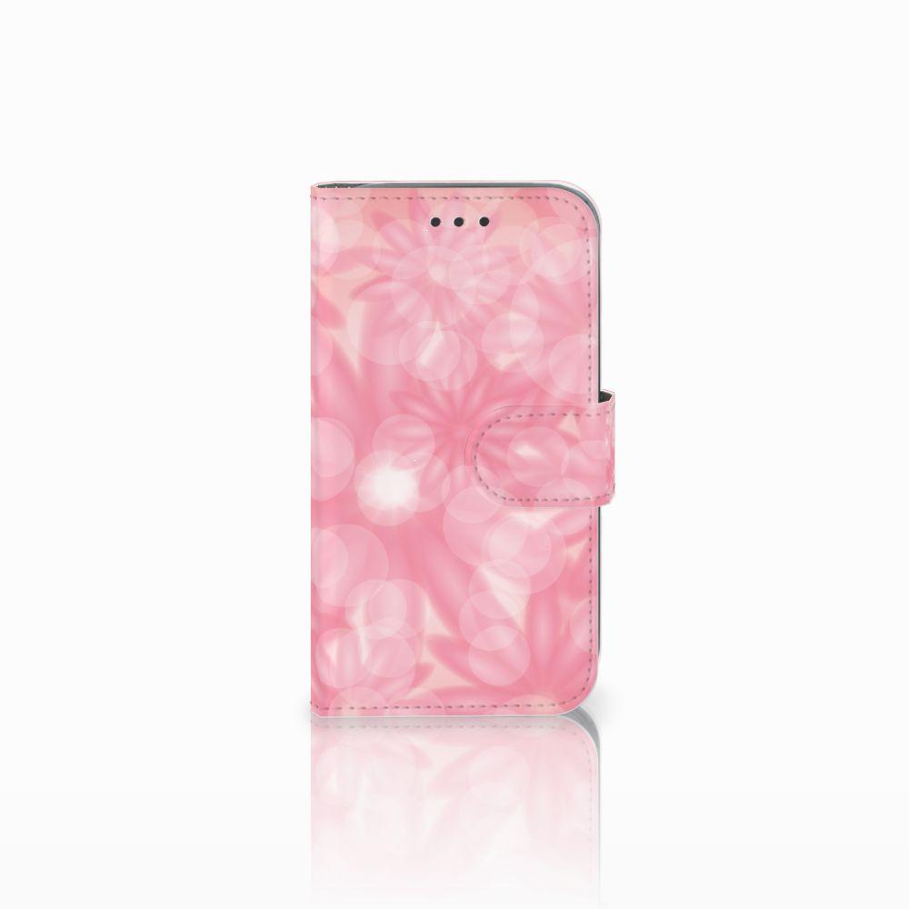 Samsung Galaxy Core Prime Uniek Boekhoesje Spring Flowers