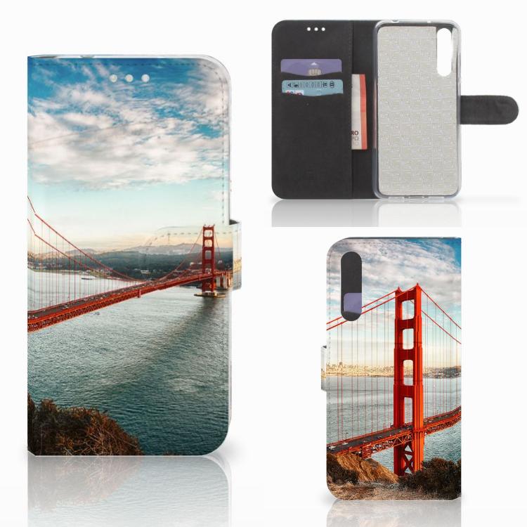 Huawei P20 Pro Flip Cover Golden Gate Bridge
