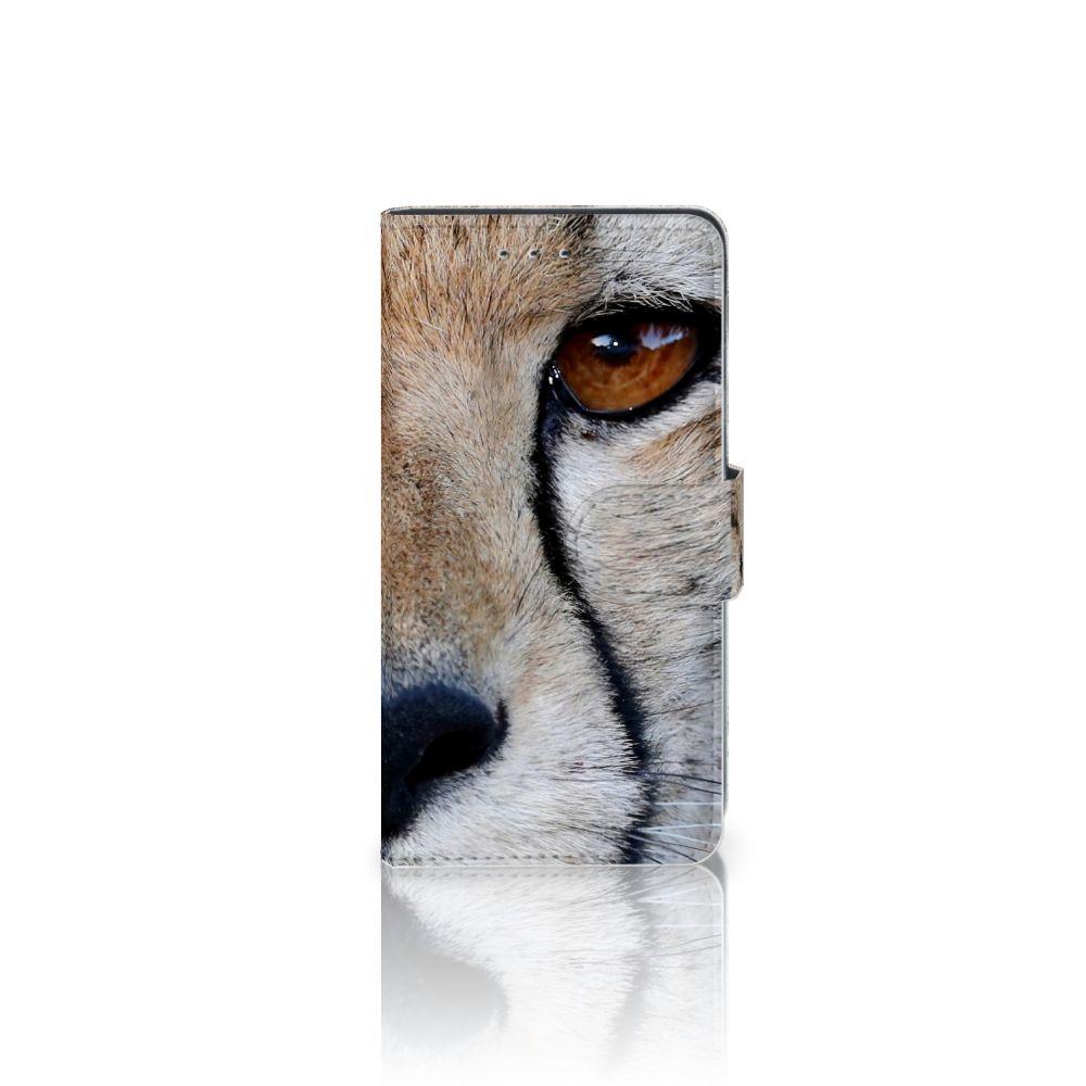 Motorola Moto G 3e Generatie Telefoonhoesje met Pasjes Cheetah