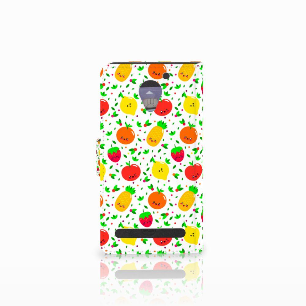 Lenovo C2 Power Book Cover Fruits