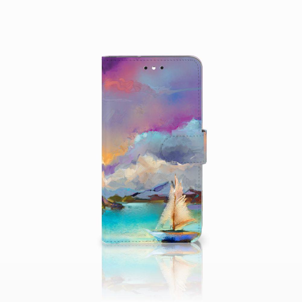 Motorola Moto G4 | G4 Plus Uniek Boekhoesje Boat