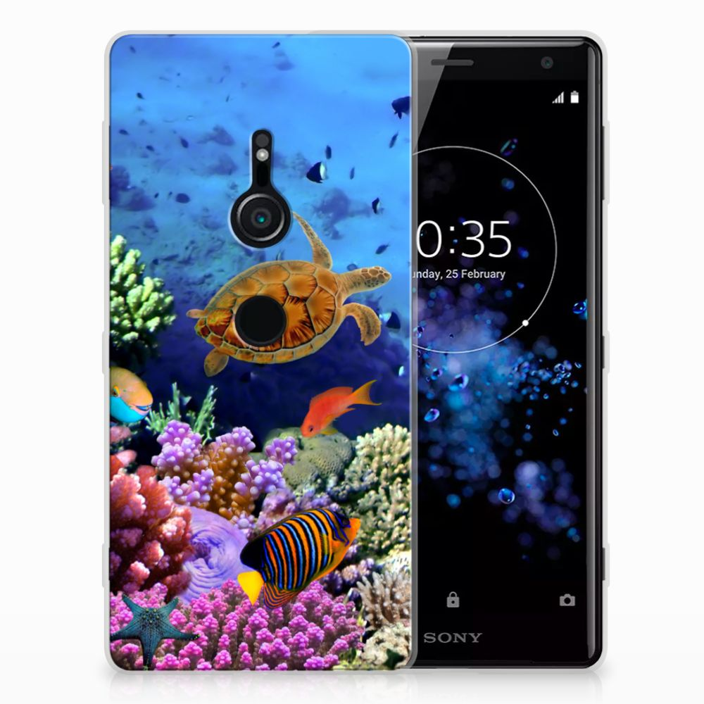 Sony Xperia XZ2 TPU Hoesje Design Vissen