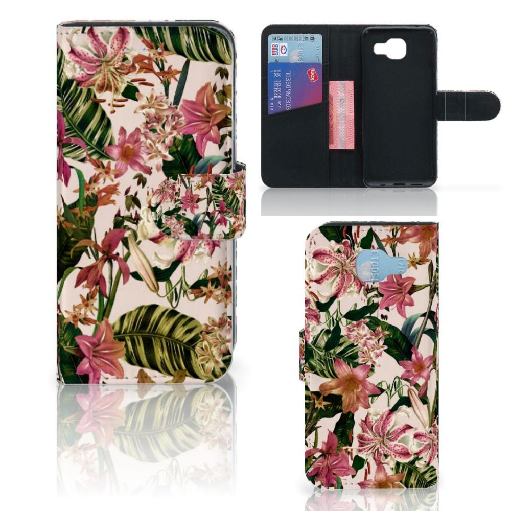 Samsung Galaxy A5 2016 Hoesje Flowers