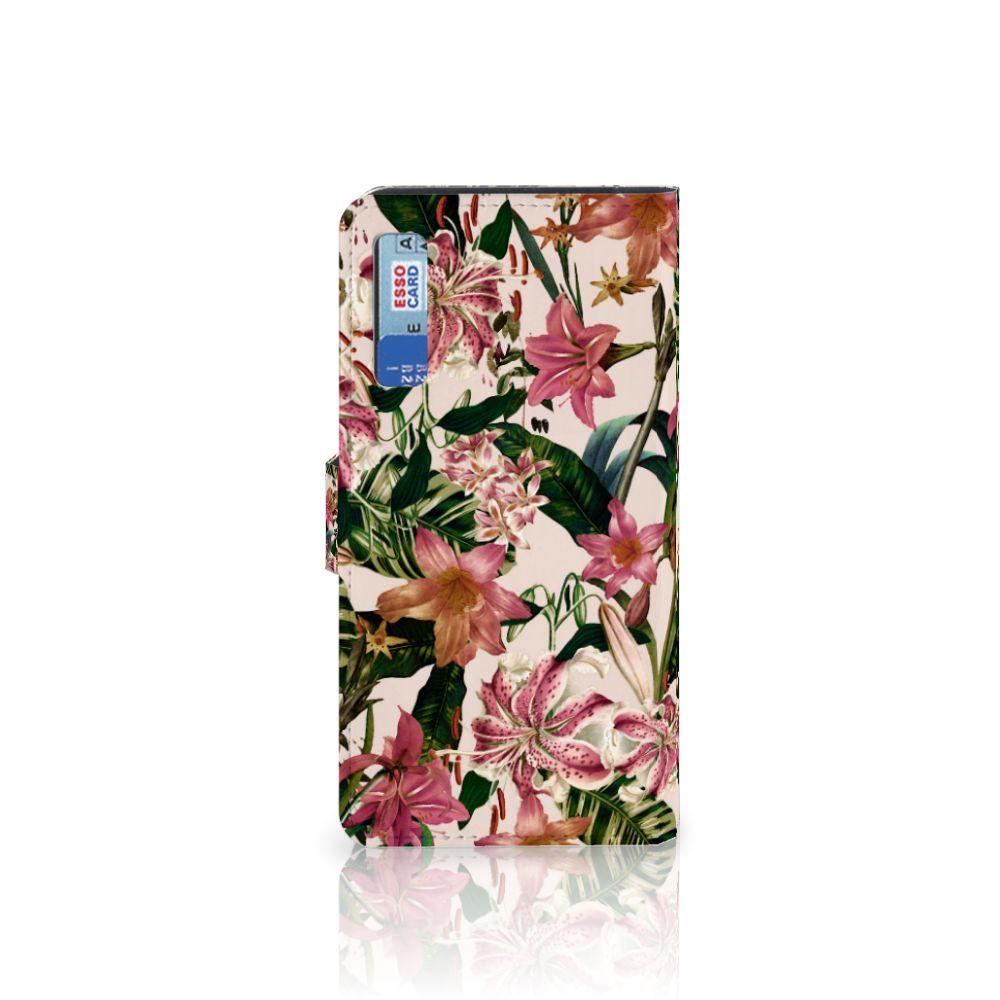 Samsung Galaxy A7 (2018) Hoesje Flowers