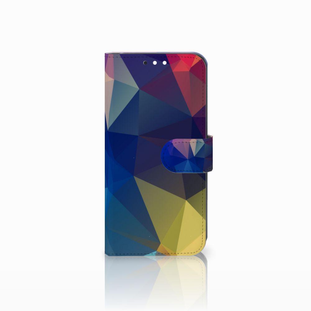 Huawei Mate 10 Lite Bookcase Polygon Dark