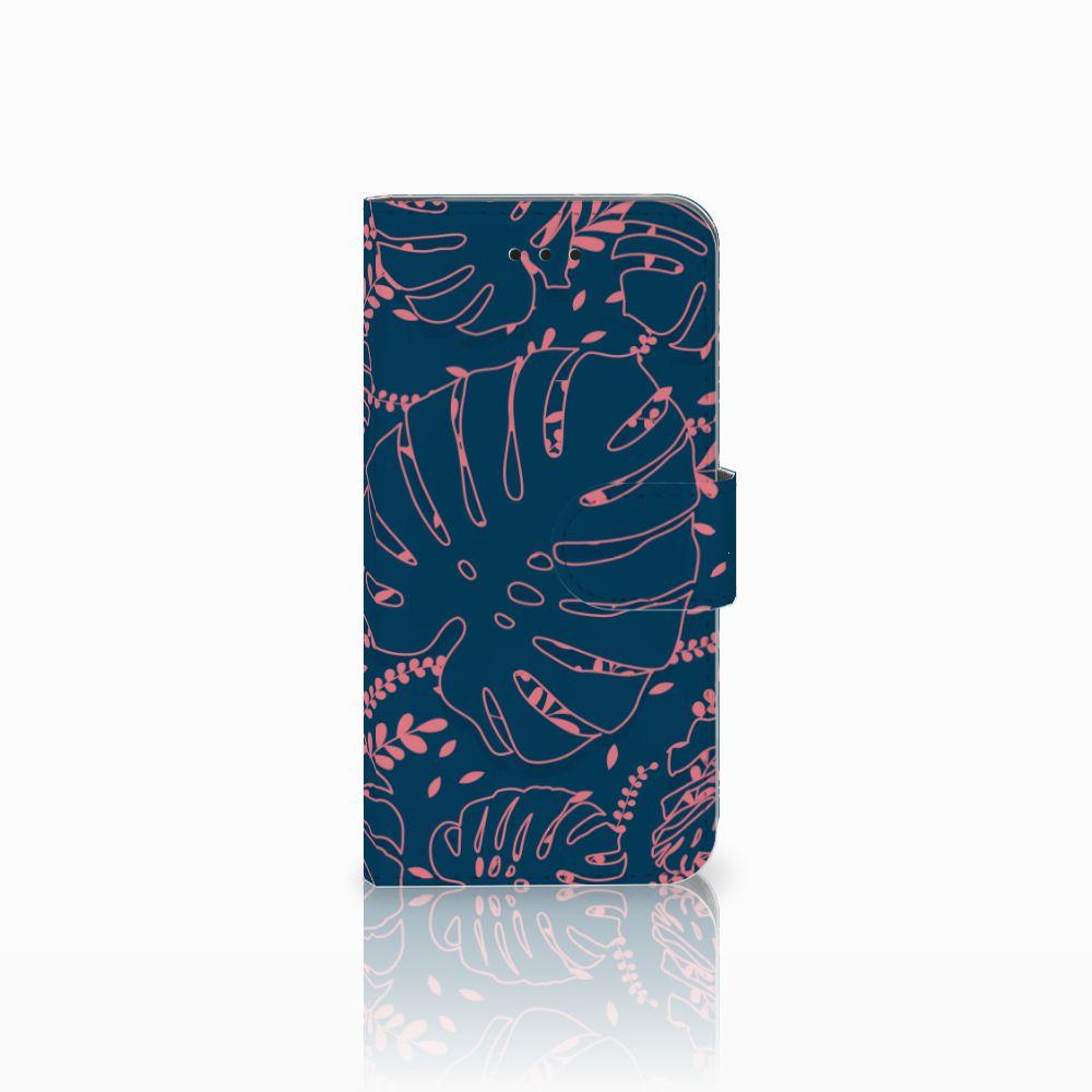 Apple iPhone X | Xs Boekhoesje Design Palm Leaves