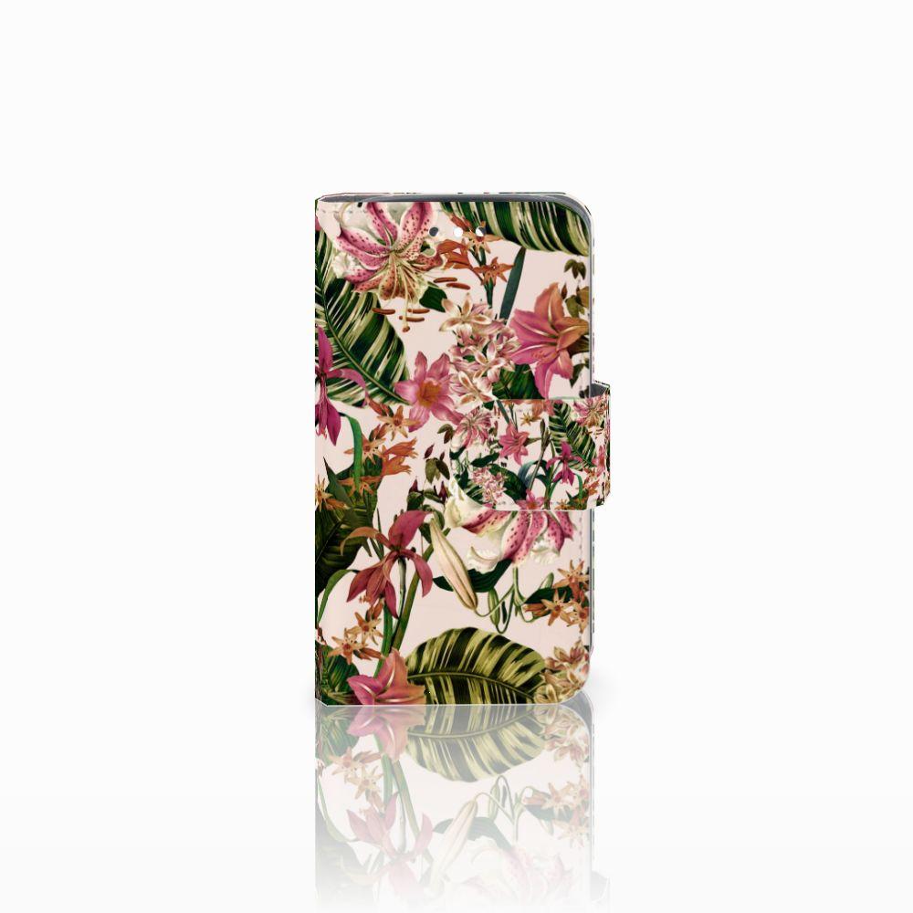 Huawei Y360 Uniek Boekhoesje Flowers