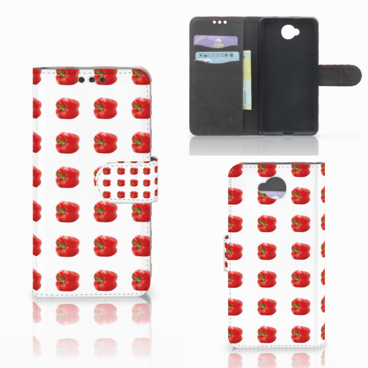 Microsoft Lumia 650 Book Cover Paprika Red