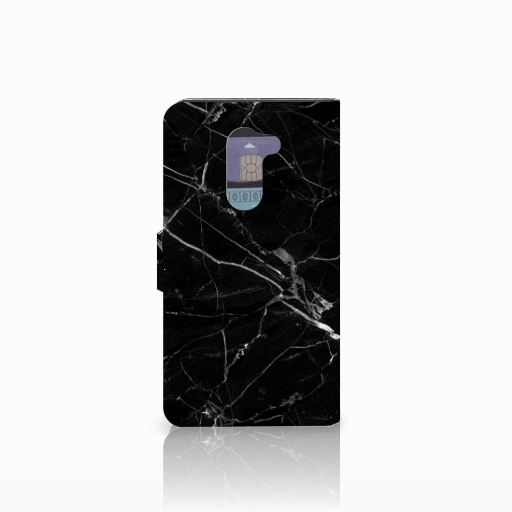Huawei Honor 6X Bookcase Marmer Zwart