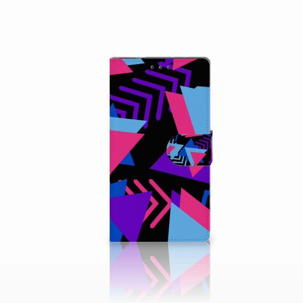 Samsung Galaxy Note 4 Boekhoesje Design Funky Triangle