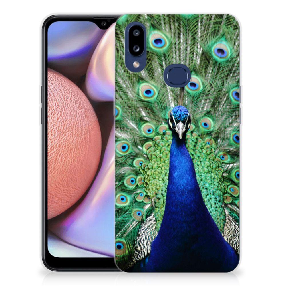 Samsung Galaxy A10s TPU Hoesje Pauw