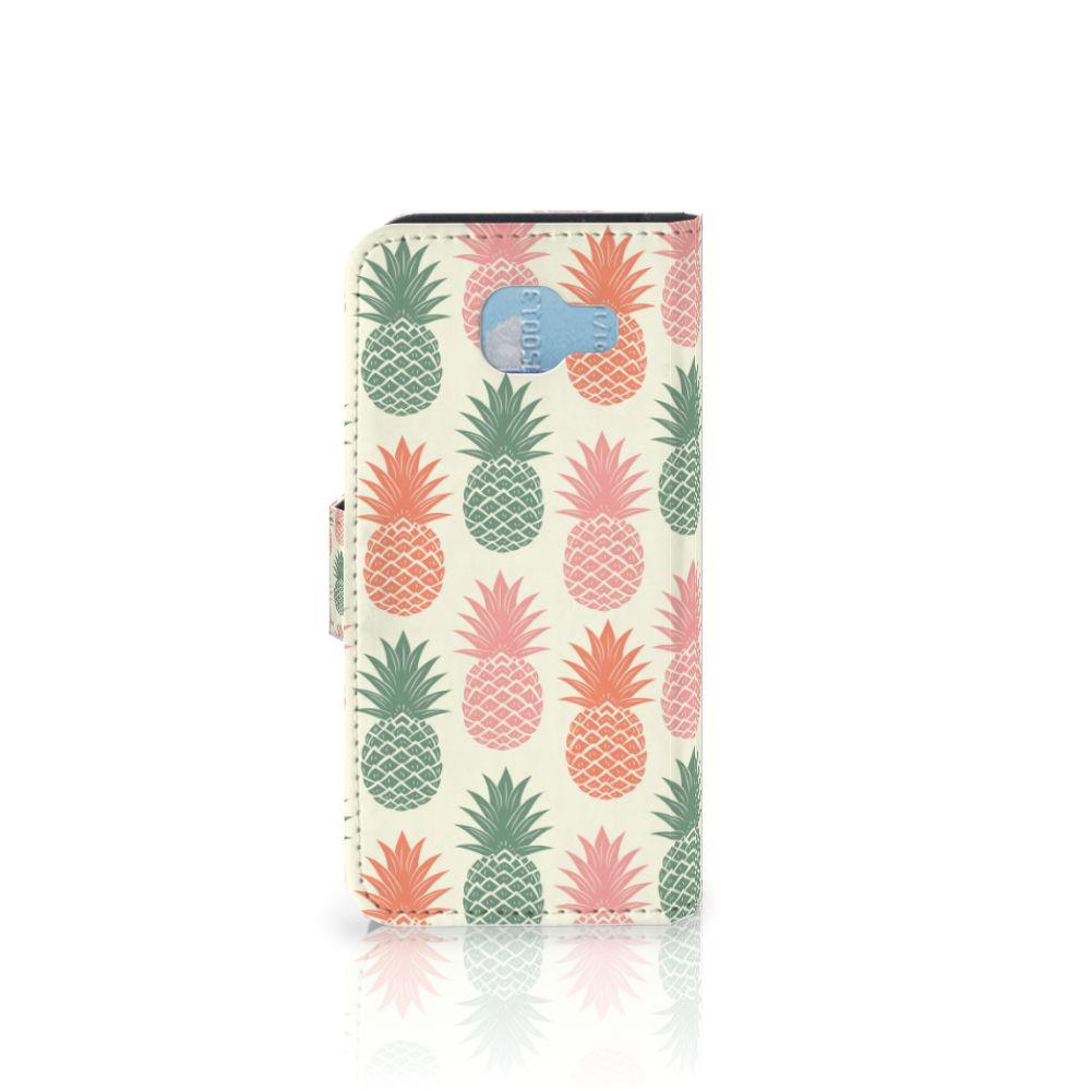 Samsung Galaxy A5 2016 Book Cover Ananas