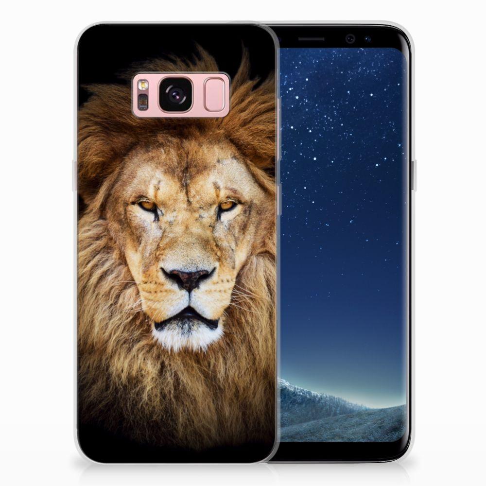 Samsung Galaxy S8 TPU Hoesje Design Leeuw