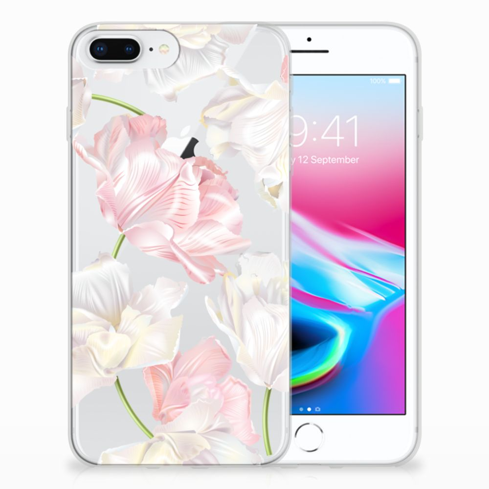 Apple iPhone 7 Plus | 8 Plus TPU Hoesje Design Lovely Flowers