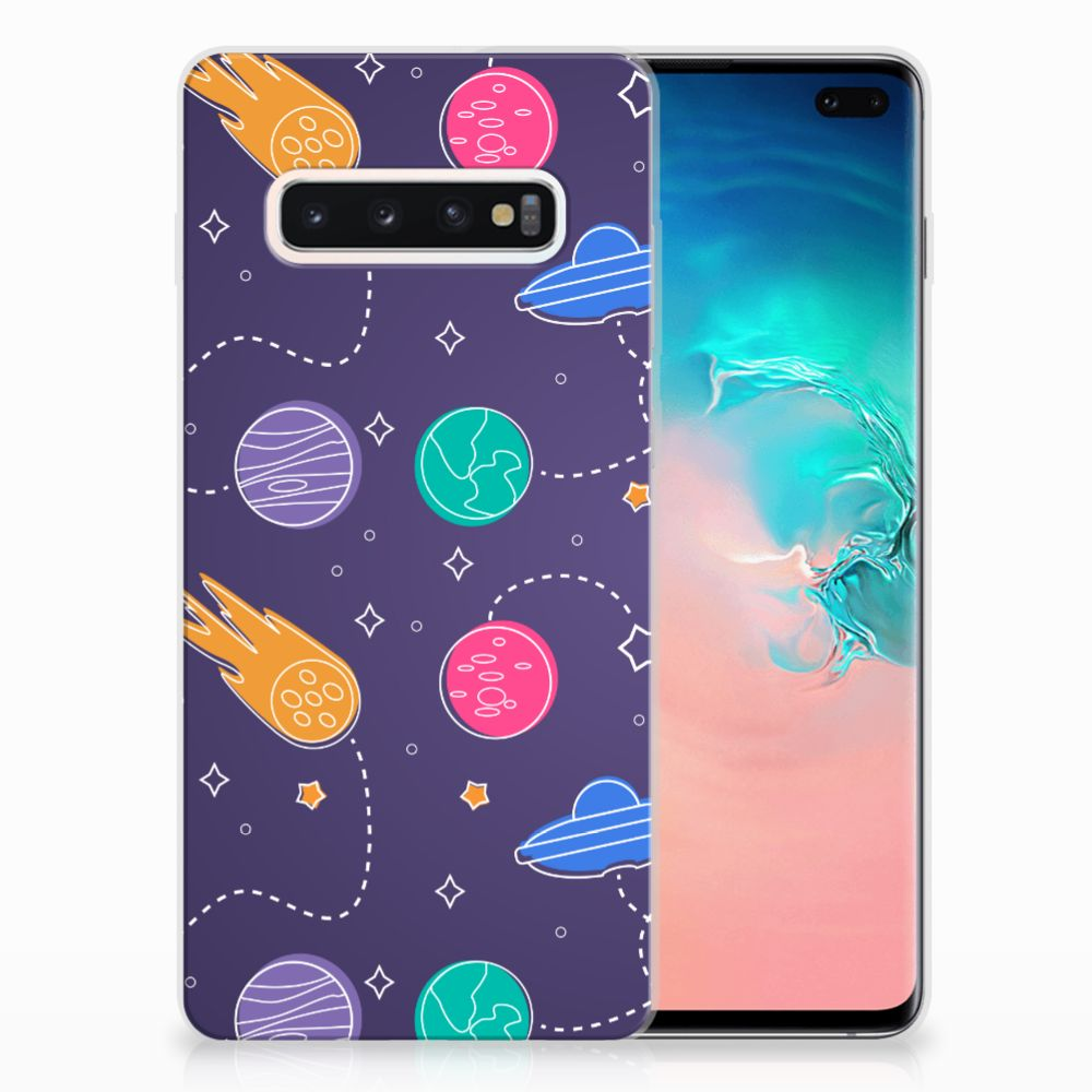 Samsung Galaxy S10 Plus Silicone Back Cover Space