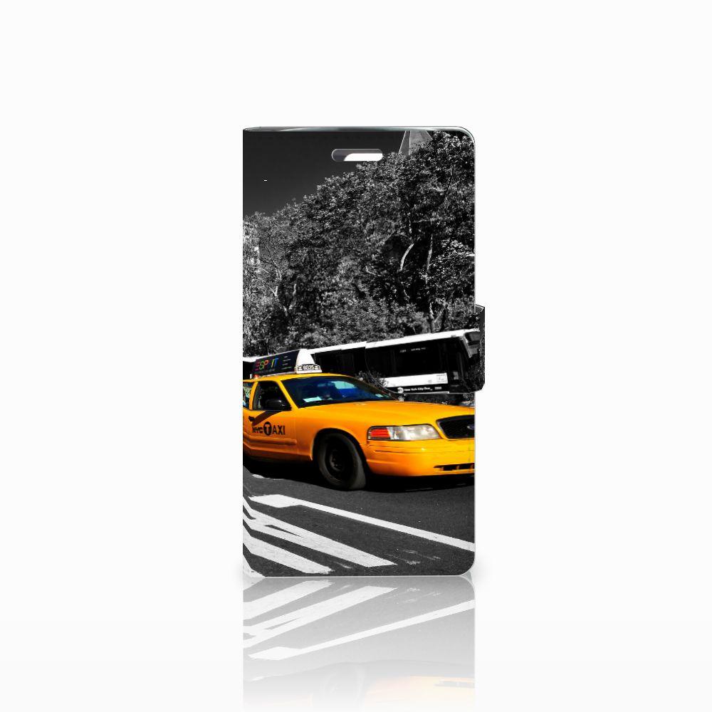 LG K10 2015 Boekhoesje Design New York Taxi