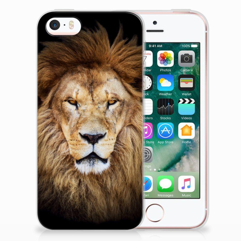Apple iPhone SE | 5S TPU Hoesje Design Leeuw