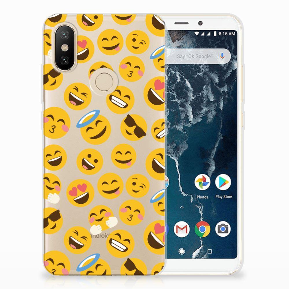 Xiaomi Mi A2 TPU bumper Emoji